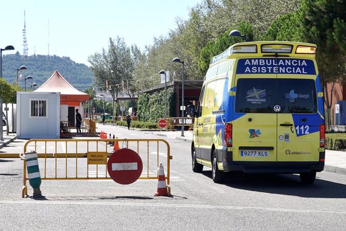 ICAL. Entrada de urgencias del hospital Río Hortega.