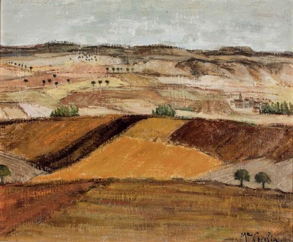 Uno de los paisajes de Mª Cecilia Martín Iglesias.