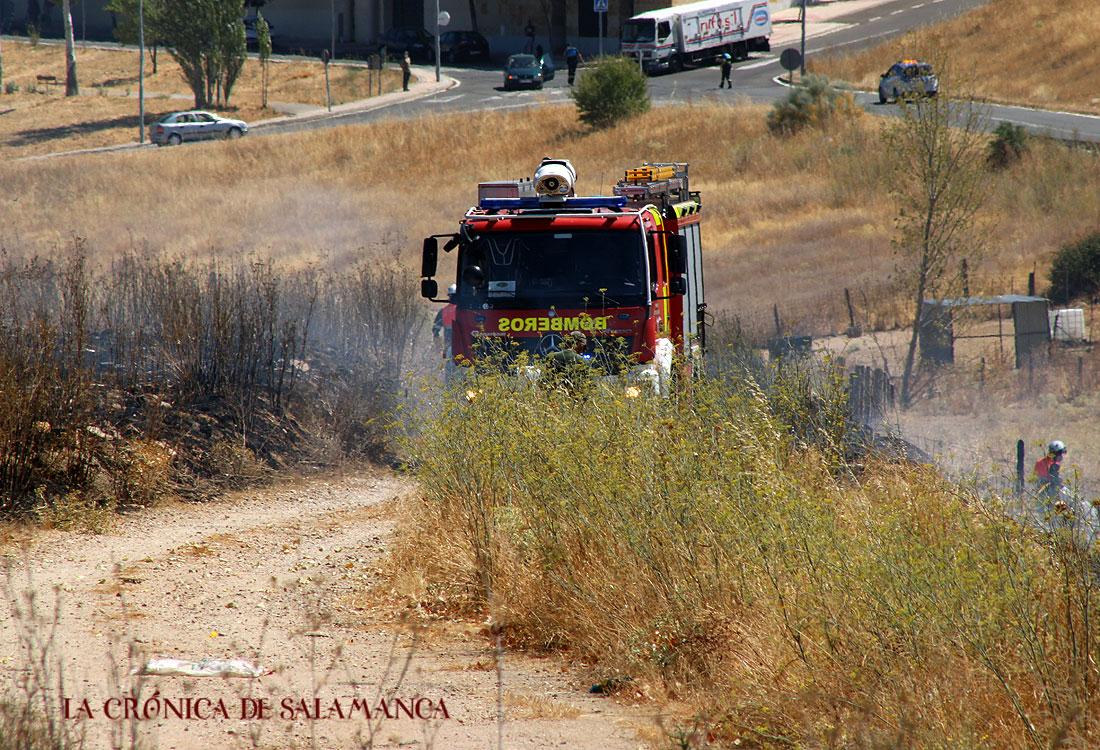 Incendio en Vistahermosa