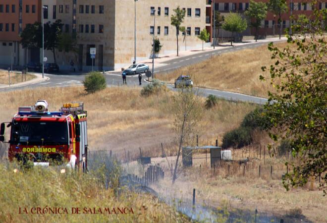 Bomberos - incendio Vistahermosa