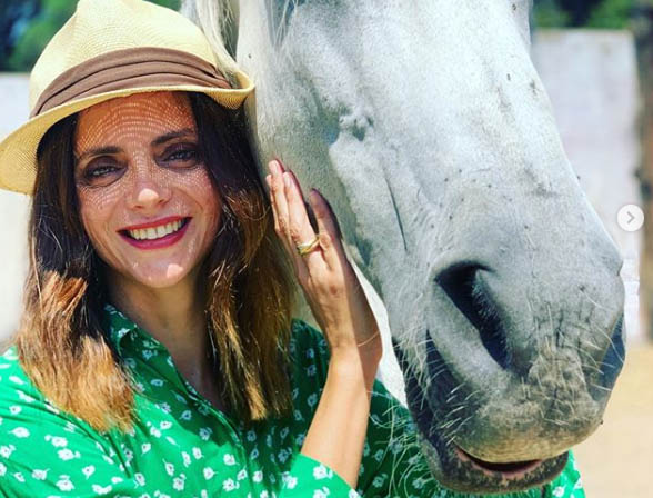 Macarena Gómez. Foto. Instagram.