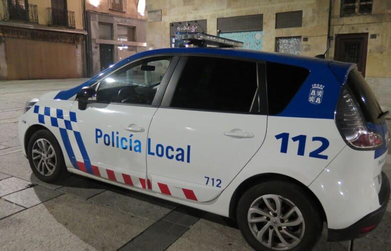 Policia Local Plaza Mayor noche. (3)