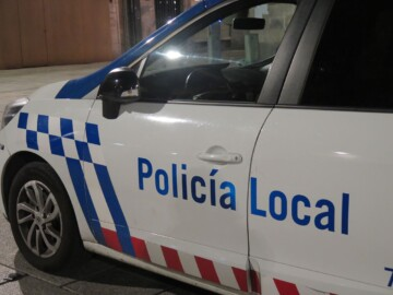 Policia Local Plaza Mayor noche. (4)