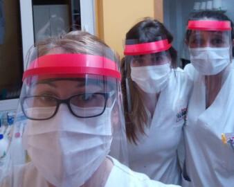 Profesionales de uno de los centros de Acalarte -Federación Castellano y Leonesa de Atención a la Dependencia.