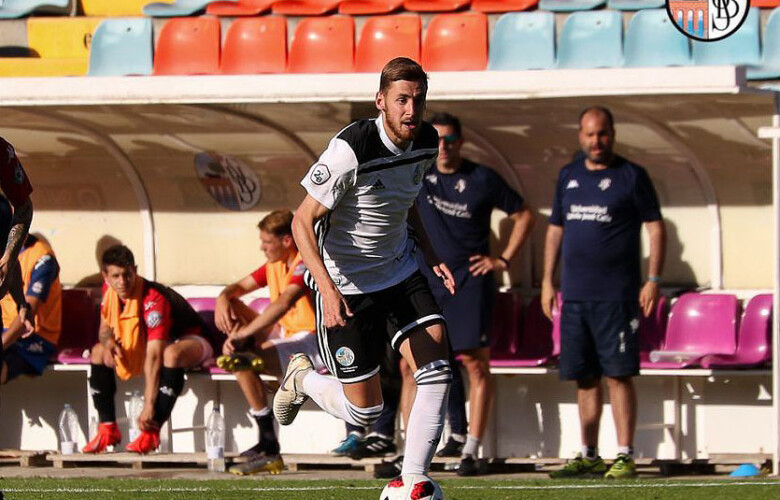 Sergio Molina, jugador del Salamanca CF