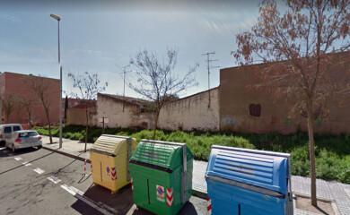 El solar ubicado en la confluencia de las calles Francisco Gil con Pedro Vidal, en Salamanca.