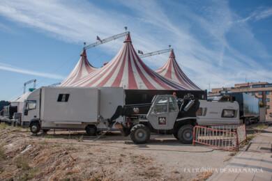 El Stellar Circus aplaza su estreno por las medidas restrictivas de la Junta de Castilla y León.