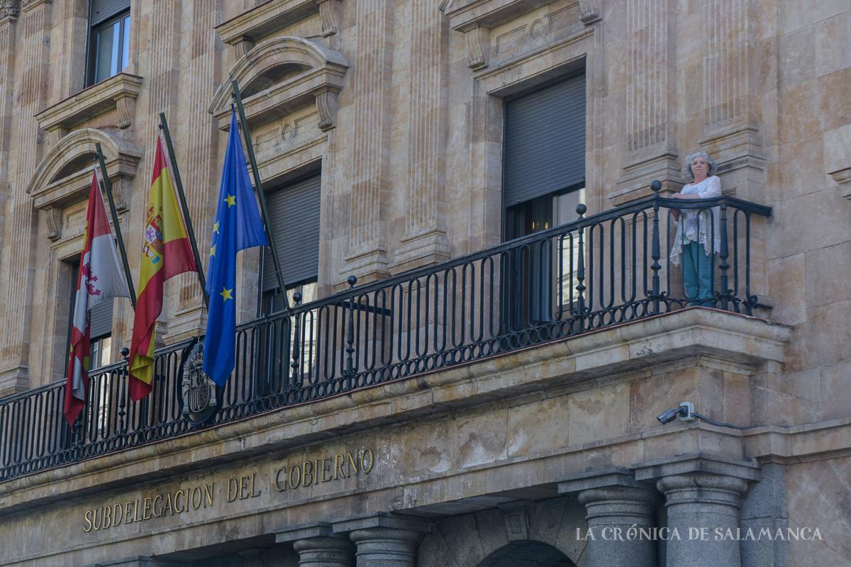 Encarnación Pérez, subdelegada del Gobierno en Salamanca.