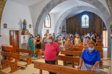 Los vecinos de Tenebrón celebraron una misa por su patrón, San Ceferino.