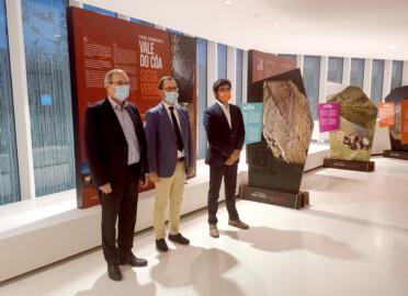 JCyL / ICAL . Exposición sobre los yacimientos de Siega Verde, en la localidad francesa Les Eyzies de Tayac, con moitvo del X aniversario de su declaración como Patrimonio de la Humanidad