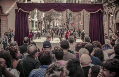 ICAL. El espectáculo 'Al otro lado', de Zanguango Teatro,.