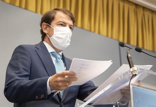 Eduardo Margareto / ICAL . El presidente de la Junta de Castilla y León, Alfonso Fernández Mañueco