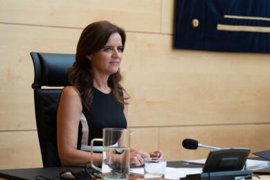 Dos Santos / ICAL . La consejera de Empleo e Industria, Ana Carlota Amigo