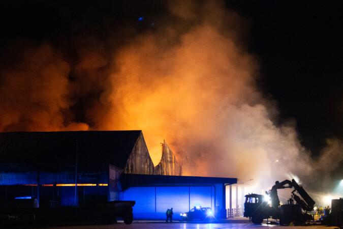 JL Leal / ICAL . Incendio en la cooperativa Cobadu