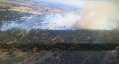 ICAL. Incendio en Morales de Rey (Zamora)