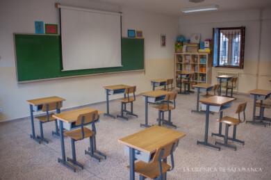 La Junta calcula un incremento de más de 300 docentes en Salamanca en este curso escolar