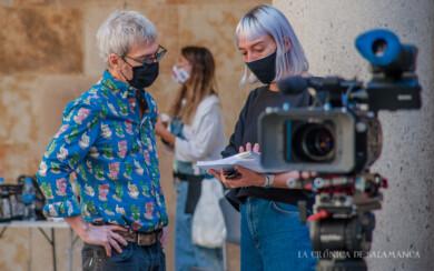 Ariel Rot y su equipo graban en Salamanca su programa de La2, Un país para escucharlo.