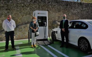 bejar coche electrico iberdrola carga