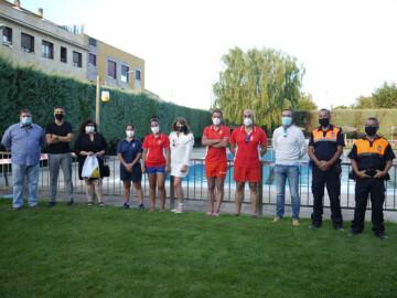 Carbajosa clausuró su temporada de piscina con un reconocimiento a los usuarios y a los trabajadores.