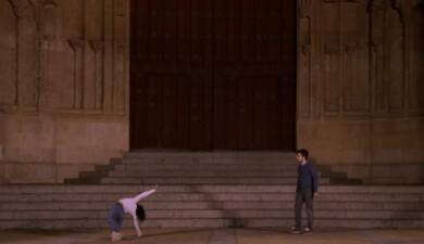 Danza en el Patio Chico.