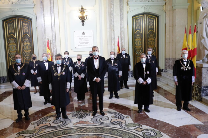 El Rey preside la apertura del Año Judicial.