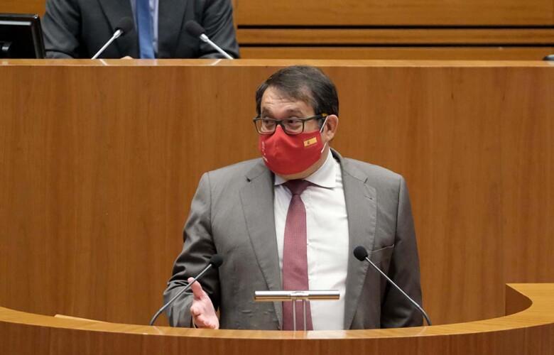 ICAL. Juan Luis Cepa, procurador salmantino en Castilla y León.