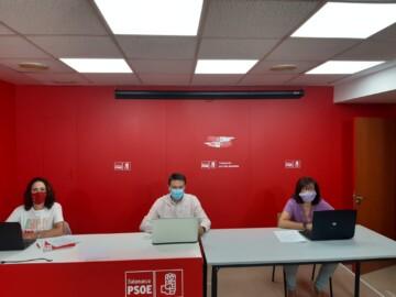 Procuradores socialistas de Salamanca en las Cortes de Castilla y León.