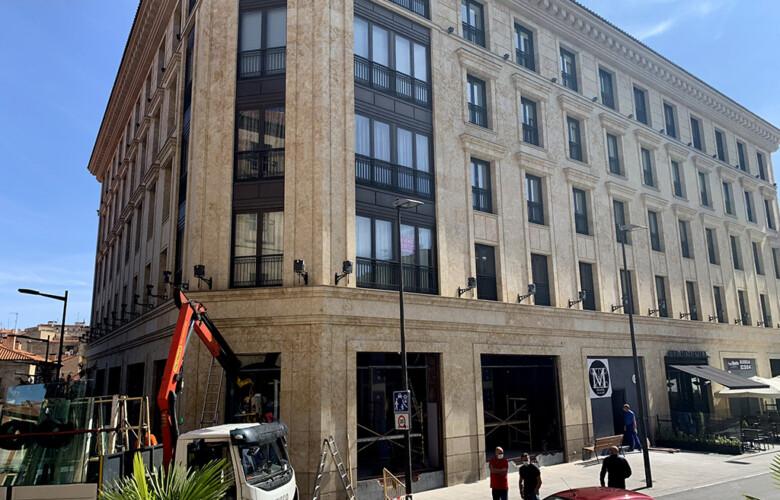 El VIPS estará ubicado en el edificio Gran Hotel, en la plaza de Poeta Iglesias.