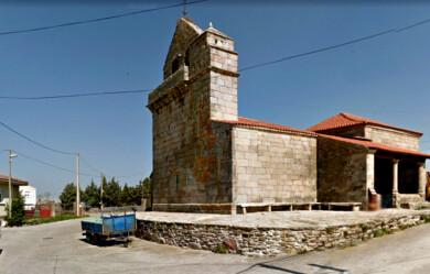 La iglesia de El Manzano.