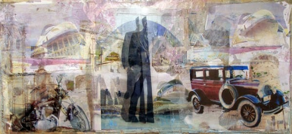 Una de las obras de Jesús Coyto que se pueden ver en el museo C.A.V. La Neomudéjar.