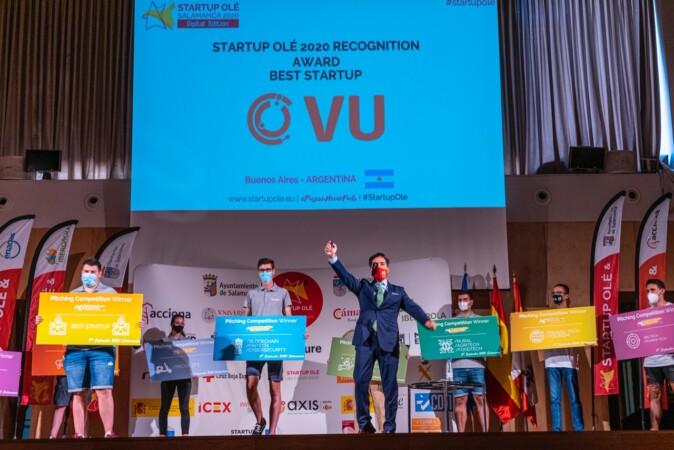 Startup Olé entrega los premios de su VI edición.