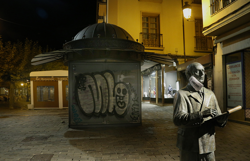 Brágimo / ICAL. A las 22.00 horas cierre de bares y calles vacias