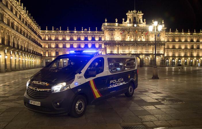 ICAL. Toque de queda en Salamanca.