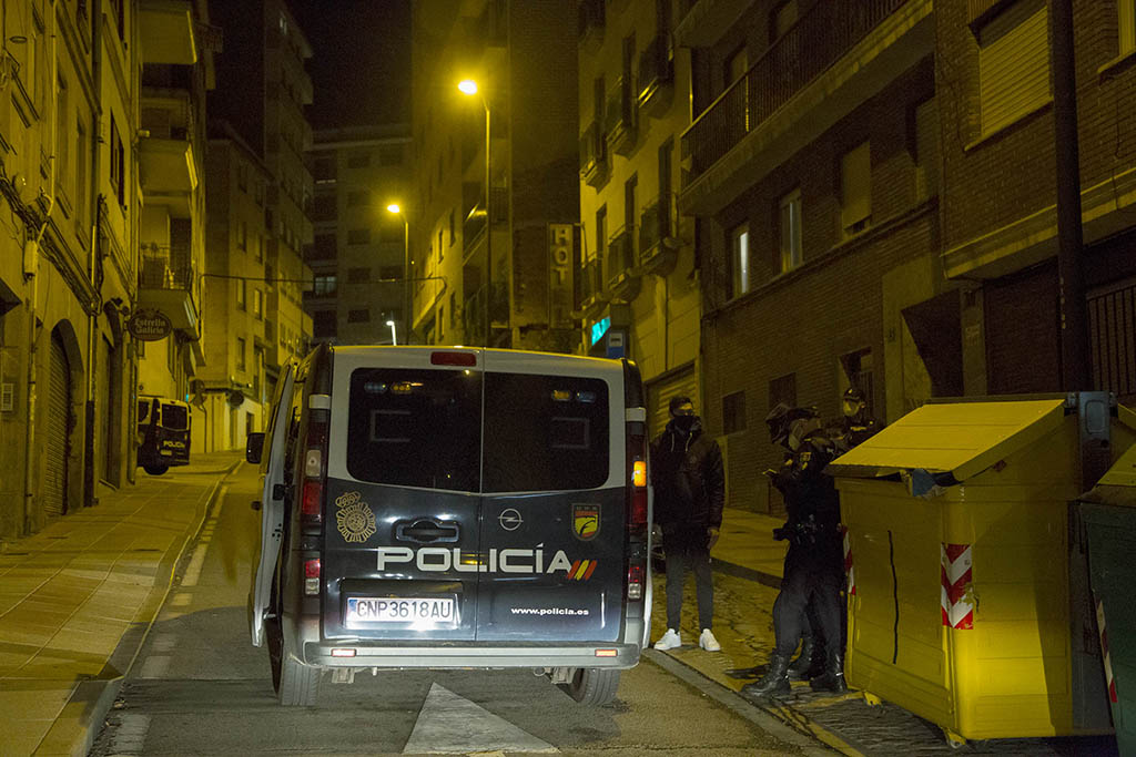 ICAL. Toque de queda en Salamanca
