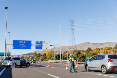 Nacho Valverde / ICAL . A-6 y Estación del Ave en Segovia