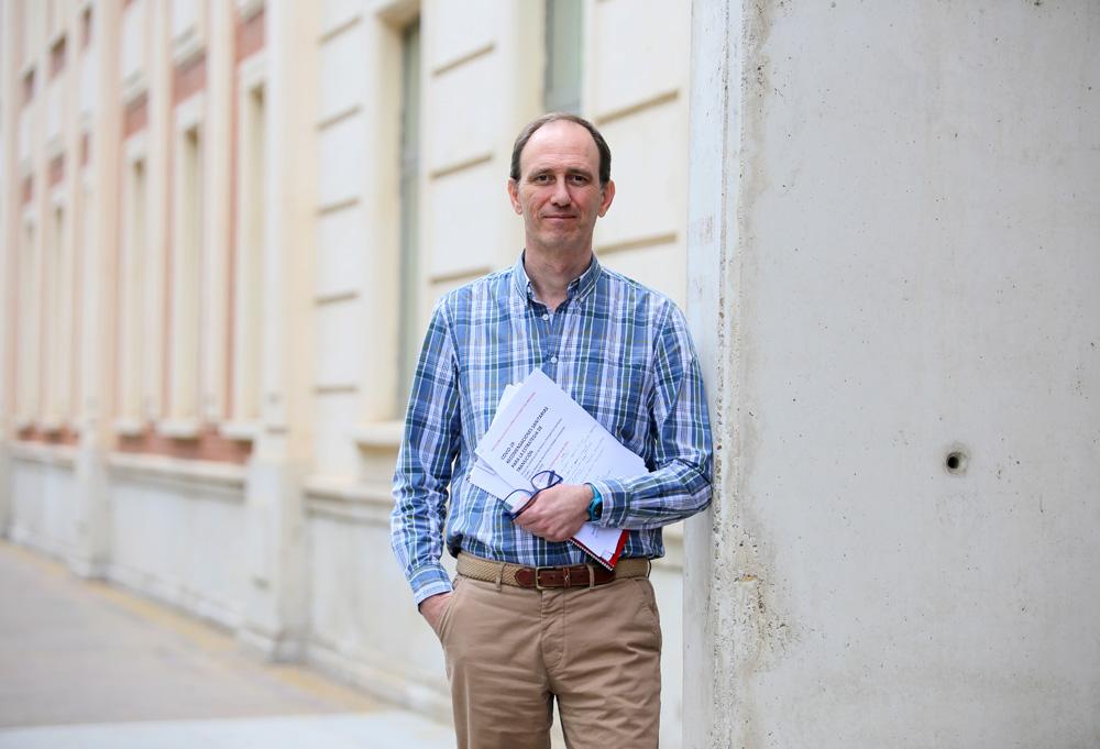 ICAL. Ignacio Rosell, secretario del Comité de Expertos de la Consejería de Sanidad de Castilla y León.