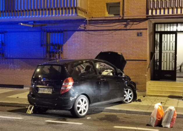 accidente barrio la vega (1