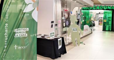 El Centro Comercial El Tormes, punto para inscribirse de forma presencial en la carrera online de la Asociación contra el Cáncer de Salamanca