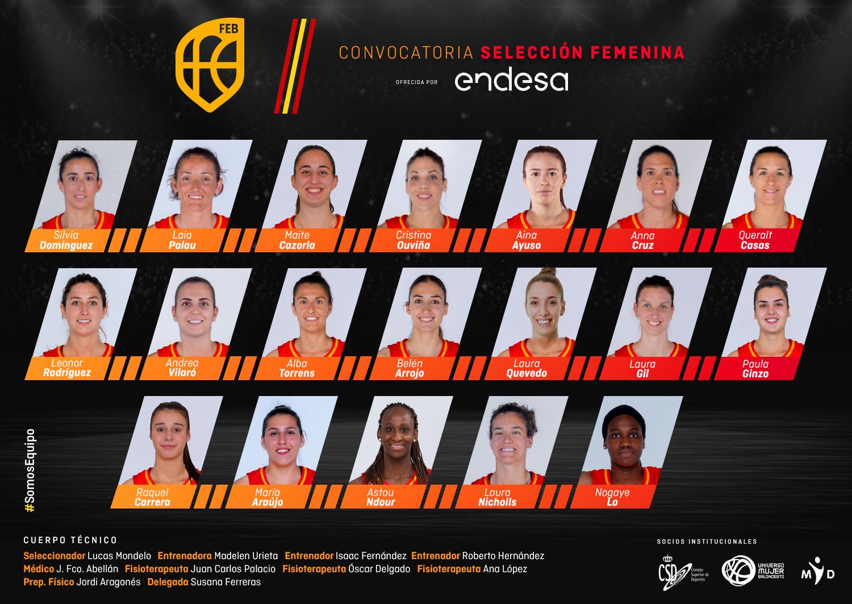 seleccion baloncesto femenino