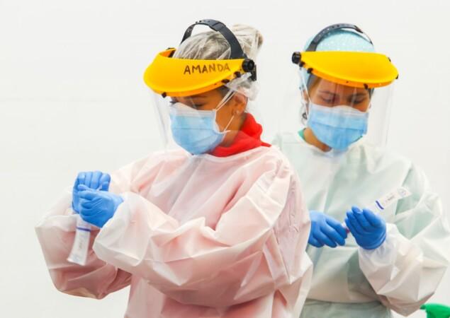 enfermeras pruebas test pcr ponferrada ical