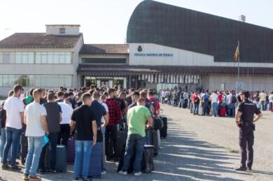escuela policia avila inicio curso sept 2019 ical