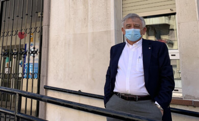 José Manuel Iglesias Clemente, médico de Familia en el centro de salud de San Juan.