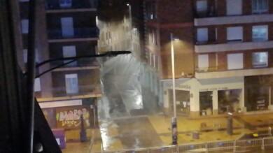 La borrasca Alex llega a Salamanca con viento y lluvia.