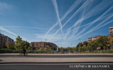 Primer día de confinamiento en Salamanca.