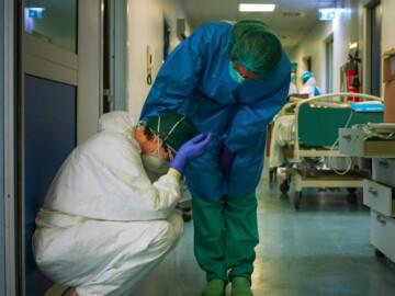 SATSE Salamanca alerta de la situación de los servicios de intensivos en el hospital de Salamanca. Foto. Sindicato Satse