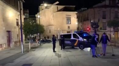 control toque queda policia