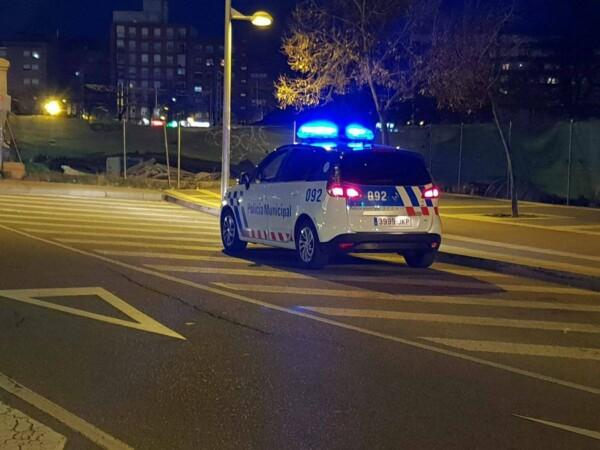 Una coche de la Policía Local de Vallaodlid.