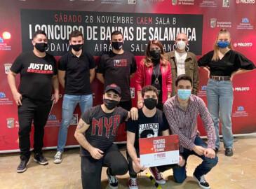 ICAL. La banda salmantina 'Saltinvanquis' gana el I Concurso de Bandas, organizado por el Ayuntamiento de Salamanca