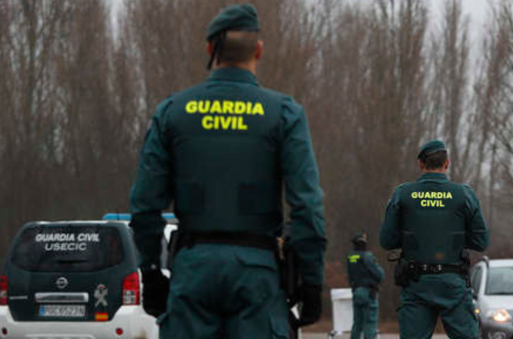 Agentes de la Guardia Civil. Foto. Guardia Civil.