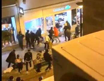 Asaltantes de una tienda de ropa en Logroño.